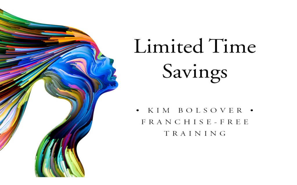 limited time image consultant training savings